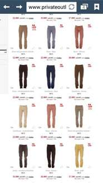 [PrivateOutlet] Sale MCS Jeans & Hosen 80% reduziert z.b. 12 € statt 105 € | + Versand 7.5 €