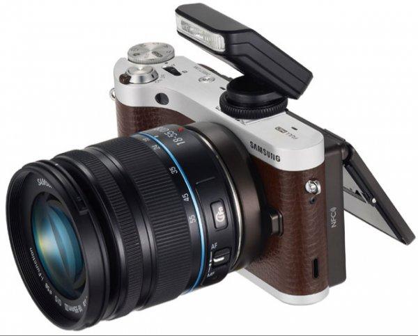 Samsung NX300M Systemkamera KIT