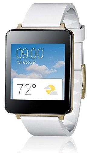 "LG™ - G Watch ""W100"" (1,2-GHz-Qualcomm-Prozessor,4GB,micro-USB,Bluetooth 4.0,Weiß) für €99.- [@Redcoon.de]"