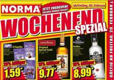 [Offline NORMA] Captain Morgan Original Spiced Gold 0,7l für 9,77€ und Russian Standard Vodka für 8,99€ ab 20.02