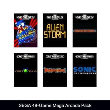 [Steam] SEGA 48-Game Mega Arcade Pack @ Amazon.com