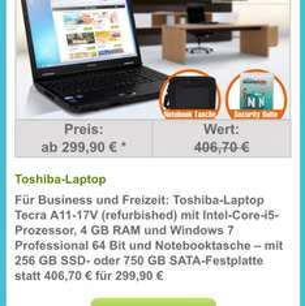 Toshiba - Laptop