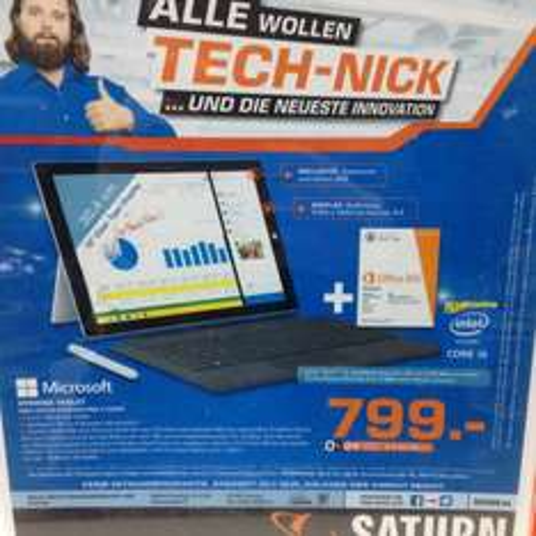 [Saturn Bremen] Surface Pro 3 + TypeCover + Office 365