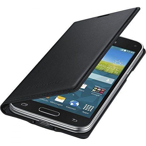 Orginal Flip Cover Samsung EF-FG800BBEGWW Black f. Galaxy S5 mini @ebay