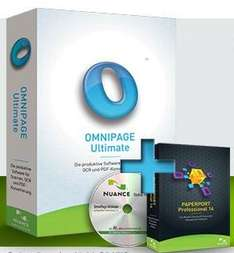 Omnipage Ultimate inkl. Paperport 14 Professional, Vollversion, ESD