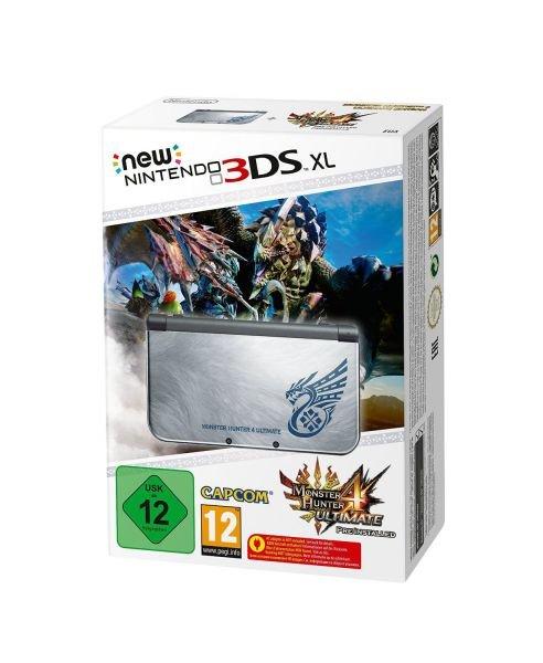 New Nintendo 3DS XL Monster Hunter 4 wieder bei Amazon verfügbar