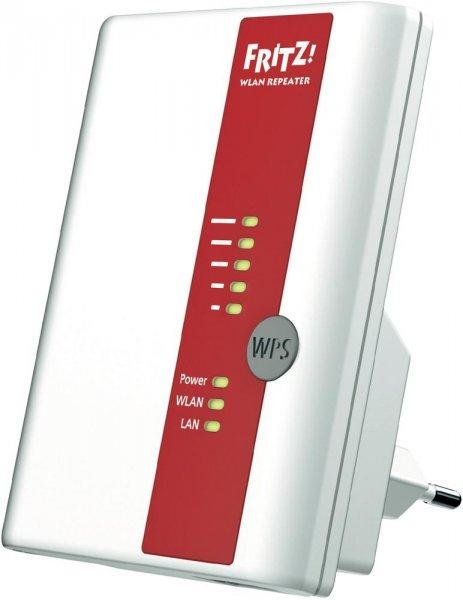 AVM WLAN Repeater 450 MBit/s 2.4 GHz FRITZ!WLAN Repeater 450E für 44,99 Euro @Voelkner.de
