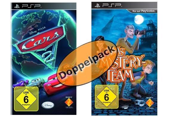 Sony PSP Spiele Bundle - Das Mystery Team & Cars 2