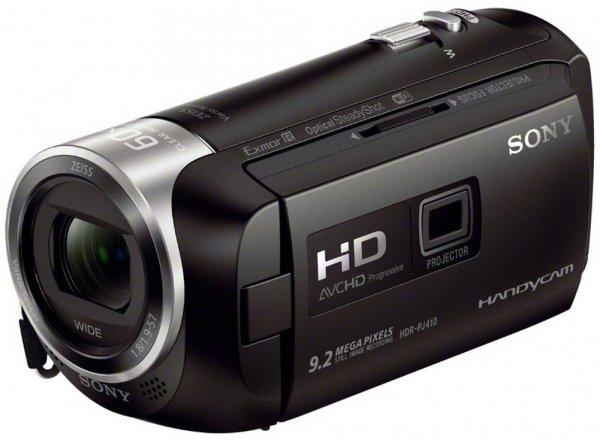Sony HDR-PJ410 Full HD Camcorder (30-fach opt. Zoom, 60x Klarbild-Zoom, Weitwinkel mit 26,8 mm, Optical Steady Shot) für 289,14€