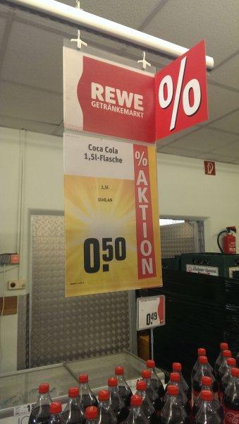 [Lokal 31275] Coca Cola 1,5l für 0,50€ (33c/l)