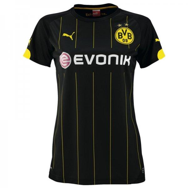 Damen BVB Away Trikot aktuelle Saison 2014/2015 Gr. M-XXL / Fanandmore 35,21 Euro