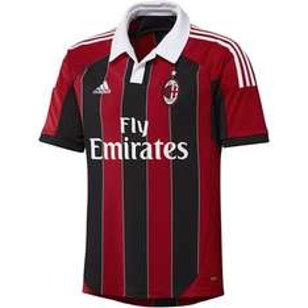 [sportdeal24] Adidas AC Mailand Trikot 13/14 Home Schwarz/Rot Milan Jersey 19,99€ + 3,99€ Versand