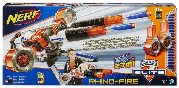Hasbro - Nerf N-Strike Rhinofire bei Müller online (auch lokal) für 79,99€