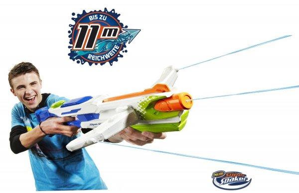 [Prime] Super Soaker Tri Strike Crossbow - Hasbro A4836E24 11,81€