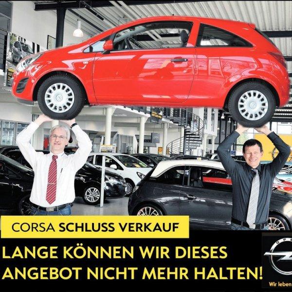 Corsa D 1.2 Liter 51kW/70PS Servo, Zentralver., ESP!, ABS, Klima!, CD-Radio für 8990,-€ [autohausborgmann.de]