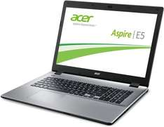 Acer Aspire E5-771-57BE - 17,3 Zoll HD+, Core i5-4210U, 4GB RAM, 1TB HDD, Intel HD 4400, DVD Brenner für 399€ @Amazon.de