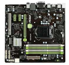 Mainboard Intel 1150 MSI H97M ECO 7817-071R - Amazon England