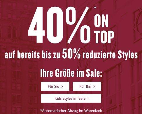 Tom Tailor - 40 % Rabatt auf bereits bis zu 50 % reduzierte Styles - 7 % Qipu