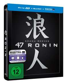 47 Ronin - Steelbook (inkl. Digital Ultraviolet) [3D Blu-ray] [Limited Edition] für 12,97 € > [amazon.de] > Prime