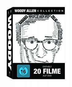 [Amazon] Woody Allen Collection (20 Discs) für 54,97€