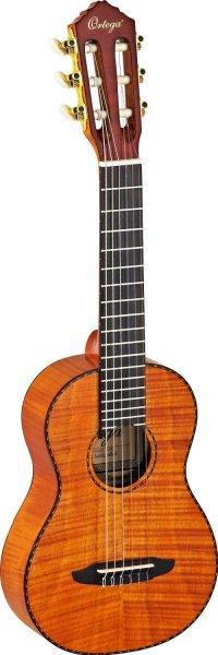Ortega RGL18FMH Guitarlele (Mix Gitarre / Ukulele) im hochglänzenden Finish mit hochwertigem Gigbag für 257,09€