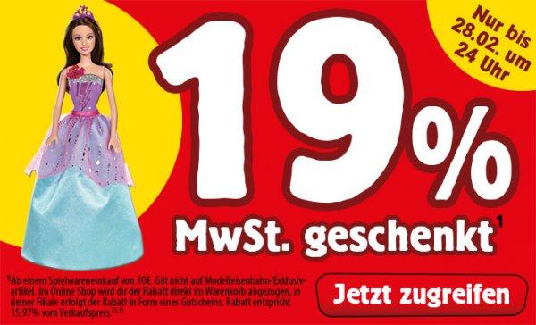 Spielemax: 16% auf ausgewählte Spielsachen und Babywaren (On- & Offline)