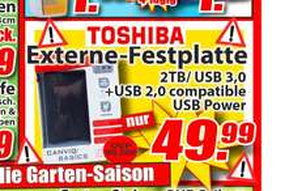 ToshibaCanvio Basics 2TB Magowsky