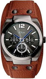 [Amazon Marketplace] s.Oliver Herrenuhr Casual SO-2502-LM mit Lederarmband für 69,95€ incl.Versand!