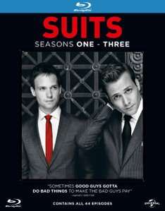 [Zavvi.de] Suits - Staffel 1-3 Blu-ray Deutsch 31.29€