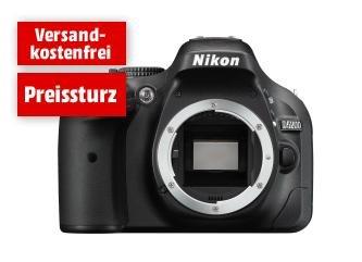 [MediaMarkt] Nikon D5200 Gehäuse schwarz