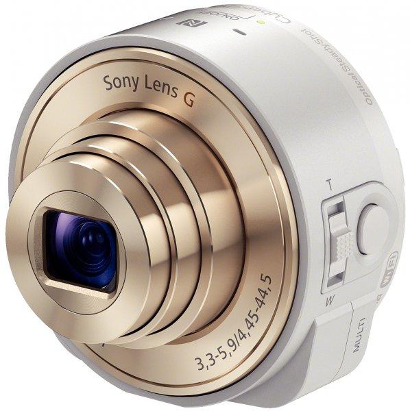Sony Cybershot DSC-QX10 weiß (DSC-QX10w) Smartshot im B4F-Outlet - die Neuware ist ausverkauft