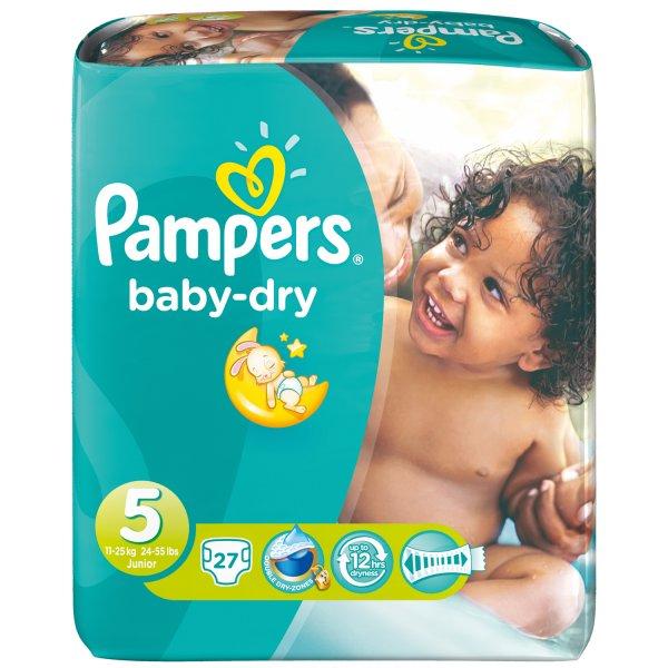 3,10 € [Rossmann Bundesweit] Pampers Baby Dry Sparpack - 70 % unter Idealo Bestpreis (9 Cent/Windel)