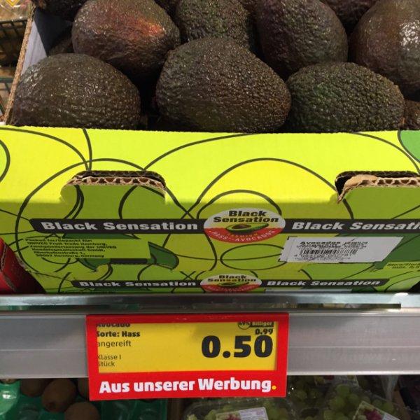 Avocado statt 0,99 jetzt 0,50 € Penny / mehrere Städte