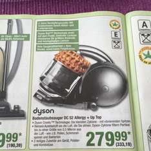 Dyson DC52 allergy