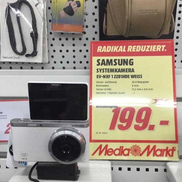 Samsung nx mini mit 9mm Objektiv im Media Markt Plauen