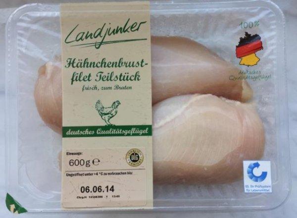 [LIDL] Landjunker Hähnchenbrustfilet (600g) für 2,99€