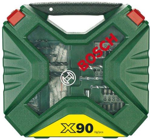 Bosch 90-teiliges X-Line Bohrer- und Schrauber-Set @ebay
