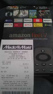 Amazon Fire TV Media Markt Würzburg  60Euro