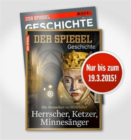 2x kostenlose Ausgabe der Zeitschrift SPIEGEL GESCHICHTE