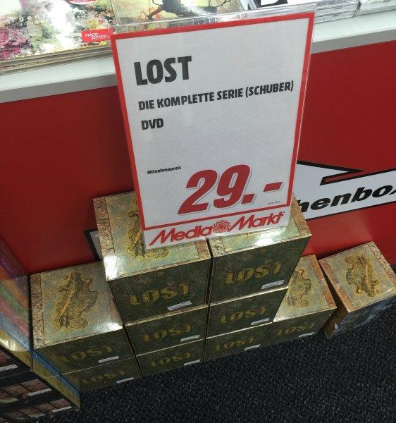 [Lokal MM Lichtenfels] Lost die komplette Serie auf DVD für 29,-