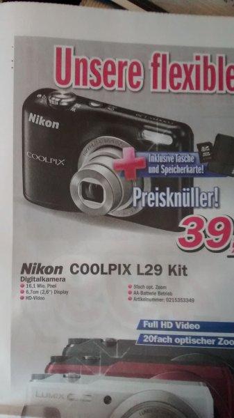Lokal Telepoint - Nikon Coolpix L29 Kit