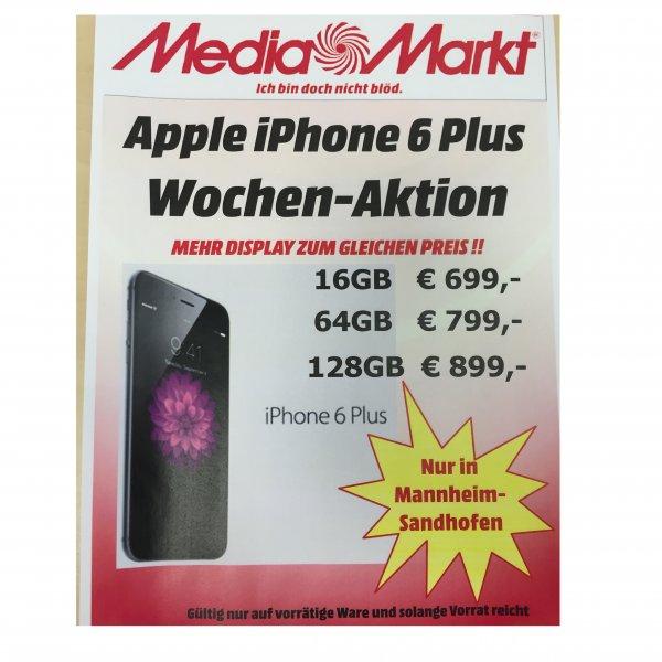 Apple iPhone 6 Plus € 100,- billiger im Media Markt