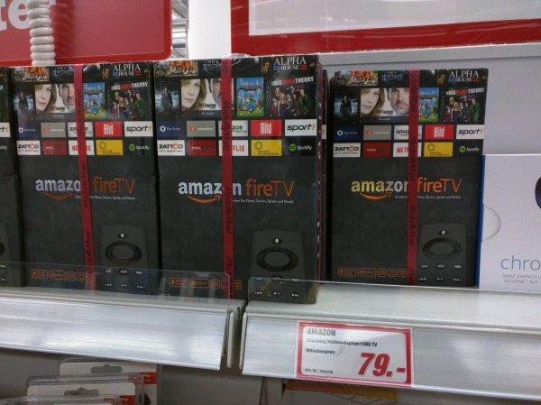 Lokale MediaMarkt Düsseldorf - Amazon Fire TV nur 79 euro
