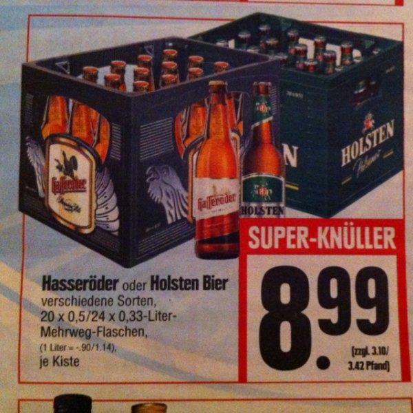 [Lokal Hessenring] Hasseröder oder Holsten Bier