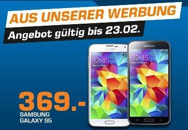 Samsung Galaxy S5 359 € bei Saturn