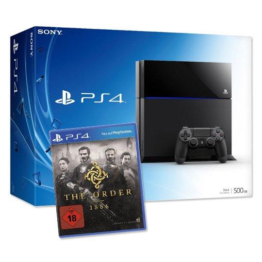 Real PS4 500 GB mit The Order 1886 für 399 Euro plus 4,95 € Versand