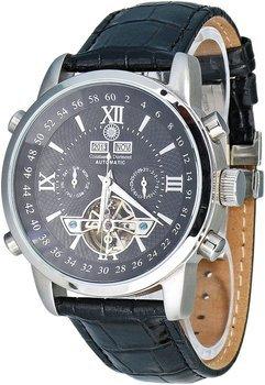 Constantin Durmont Herren-Armbanduhr Calendar Analog Automatik