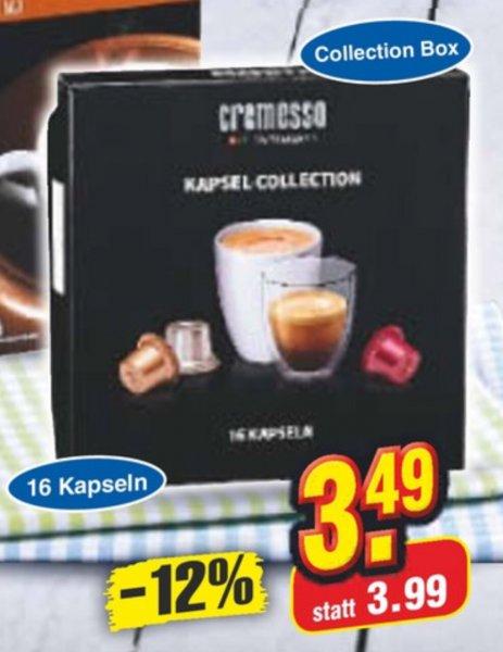 [Netto Marken Discount] Cremesso Kapsel Collection Bestpreis 3,49€