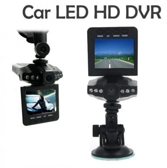 2,5-Zoll-HD Auto DVR mit Nachtsicht dreh-und klappbaren TFT-LCD-Display