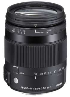 Sigma 18-200mm F3,5-6,3 DC Makro HSM Objektiv [Sony A-Mount] für 275,01 € @Amazon.co.uk